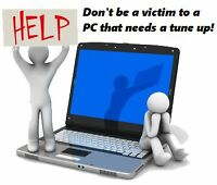 Qualicum to Nanoose: Is Your PC Sick? Slow? $40 Flat Rate