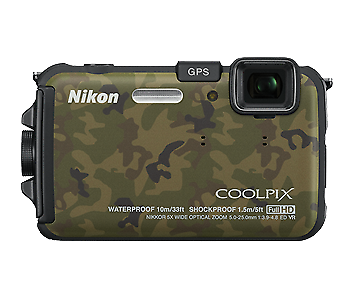 Nikkon Coolpix AW100 Waterproof/Shockproof Camera