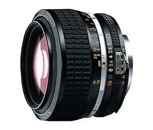 Nikon NIKKOR 50mm f/1.2 Lens featuring F-Mount Lens/FX Format