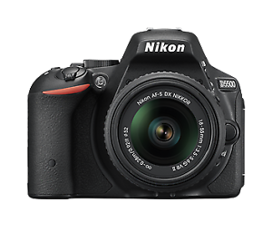 NIKON D5500 DSLR With 18-55mm and 55-200mm Lens Prospect Prospect Area Preview
