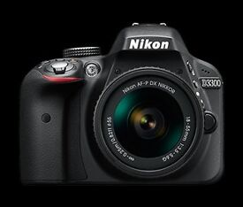 Nikon D3300 DSLR with tripod - excellent condition (sample photos attached)