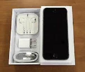 Black iPhone 5S For Sale (16 GB), LNIB, Unlocked,