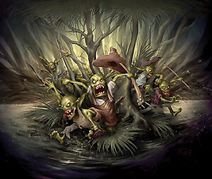 Malifaux Gremlins game miniatures - new