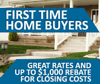 First Time Buyer Rebate and 2.54% 5 yr Fixed Rate