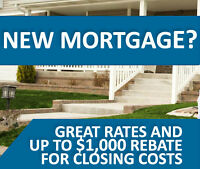 Homebuyers! Cash Back, Great Service and 2.49% 5 Year Fixed