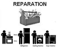 réparation, entretien, installation, pièces a partir de 30$