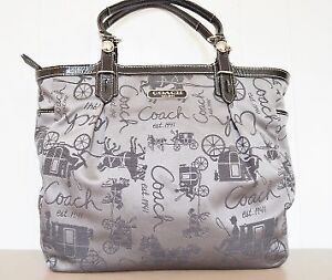Coach F16563: Gallery Horse and carriage East west Tote