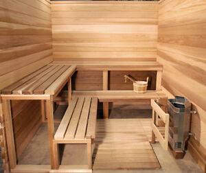 INDOOR AND OUTDOOR SAUNAS. MADE IN CANADA WITH REAL Peterborough Peterborough Area image 8