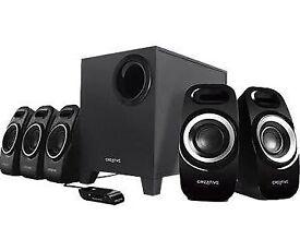 5.1 Creative Inspire T6300 speakers