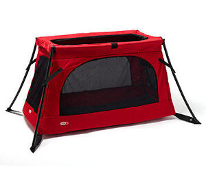 NEW red Phil and Ted's Travel Cot/Crib Peterborough Peterborough Area image 2