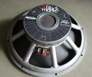 Peavey Black Widow 4 & 8 Ohm Speakers