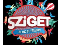 Sziget 7 Day Festival Ticket! Includes Flights,Camping and Move in Tuesday Tickets and more