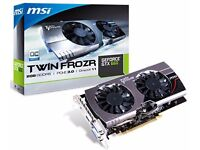 MSI GTX 660 GAMING 2GB Twin Frozr Graphics Card