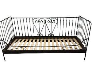 Ikea Meldal wrought iron day bed (twin)