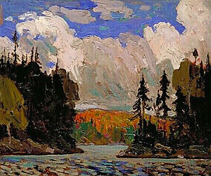"""Limited Edition """"Black Spruce in Autumn"""" by Tom Thomson Stratford Kitchener Area image 1"""