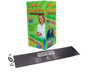 """Super Sprouter Double Seedling Heat Mat 40"""" x 10"""" at BUSTAN.CA"""