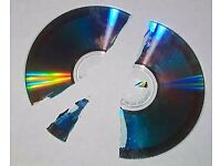 scrap cds, dvds, disks