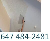 POPCORN CEILING REMOVAL CONTRACTORS IN TORONTO  (647)484-2481