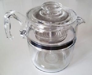 Pyrex Perculator-6 Cup -Complete-Vintage-Fantastic Condition