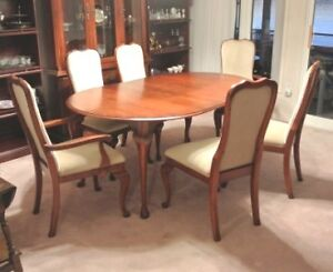 Roxton Dining Table and 6 Chairs