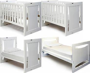 Grotime 5 in 1 Rollover Cot with matching Tallboy and Changetable