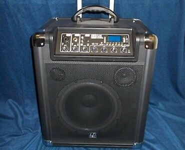 LD Systems RoadJack 10 Portable PA Loudspeaker with Mixer + Bluetooth 5a8014b2998d8