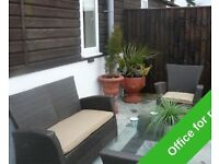 STYLISH OFFICE WITH PRIVATE PATIO AREA, REF: ABH1000179 CHURCH LANE, BOURNEMOUTH