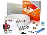 Underfloor heating- water 25sqm