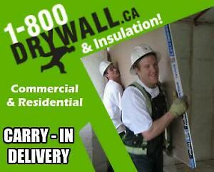 CGC Sheetrock® Drywall & Owens Corning Insulation | Carry-In Delivery *$25 DISCOUNT on orders placed Online!* Abbotsford Fraser Valley Preview