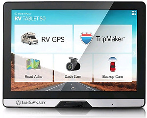 Rand Mcnally TND 80 Trucking GPS MINT! ANDROID TABLET!