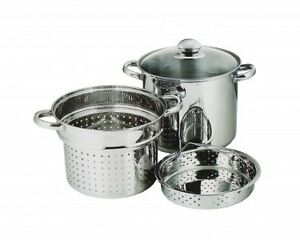 Arcosteel 8L-4PC Stainless Steel Pasta Cooker Set *PPU*