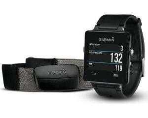 Garmin Vivo Active Watch - Black with Heart Rate Monitor