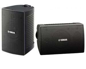 Yamaha NSAW194B 4-Inch All Weather Speakers - Black Pair