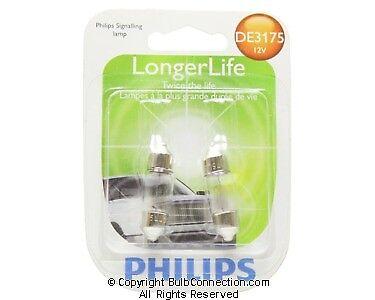 New Philips Bc9656 De3175 Automotive 2 Pack De3175b2 12V Bulb