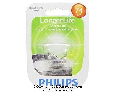 New Philips Bc9580 74 Automotive 2 Pack 74Llb2 Bulb