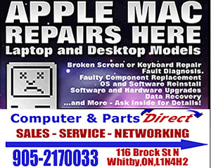 Apple Repairs /Macbook and Powermacs  at a fraction of the cost