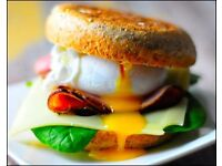 Breakfast cafe opening in June. Do you like to prepare fresh, colourful, health-conscious food?