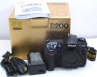 Nikon D200 pro level DSLR with MB-D200 grip - like new Newtown Inner Sydney Preview