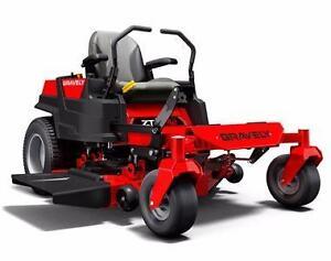 ***New Gravely Ride On Zero-Turn Lawnmower***