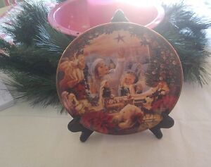Bradford Exchange Porcelain Christmas Collector's Plate