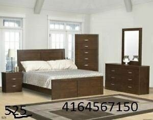 8PC  BRAND  NEW  BEDROOM  SET  ON  SPECIAL  SALE ***