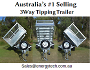 Galvanised 10x6 Drop Side 3 WAY TIPPER Tandem 3.5 Ton Trailer Gold Coast Region Preview