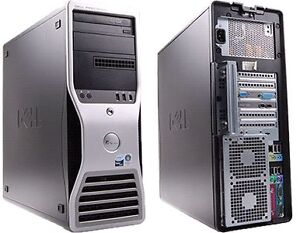 Extremely Fast workstation Dell Precision T5400 Dual Xeon + SSD