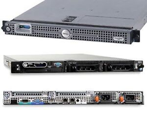 Dell PowerEdge 1950 Intel Xeon 2xQuad-Core 16GB RAM 2x150GB 1U R