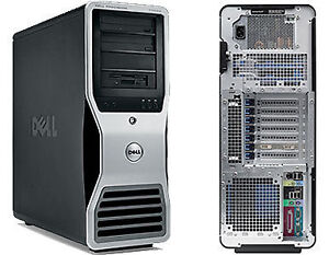 DELL PRECISION T3400 DUAL CORE 3.00 GZ 4GB RAM 80GB HD