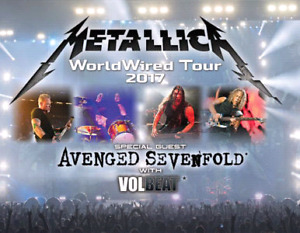 METALLICA WWT 2017 ROGERS CENTER JULY 16