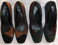 Ladies Natural Sport Comfort Suede Shoes 2 Pair Size 6