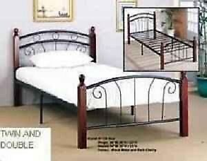 bed frame and mattress single /double/ queen