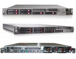HP ProLiant DL360 G5 1 x 2.0GHz QuadCore, 2GB, 2 x 146GB SAS 10K