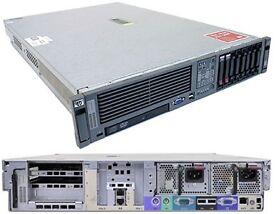 HP ProLiant DL380 G5 memory 64gb Intel Xeon with Monitor